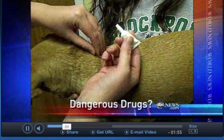 ABC新聞關於防蚤滴劑造成寵物不良反應及死亡病例的報導