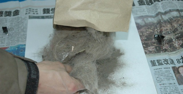 美樂狗之阿公異想天開吸塵器集塵袋DIY大改造