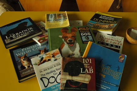 美樂狗阿公異想天開之犬圖書館成立