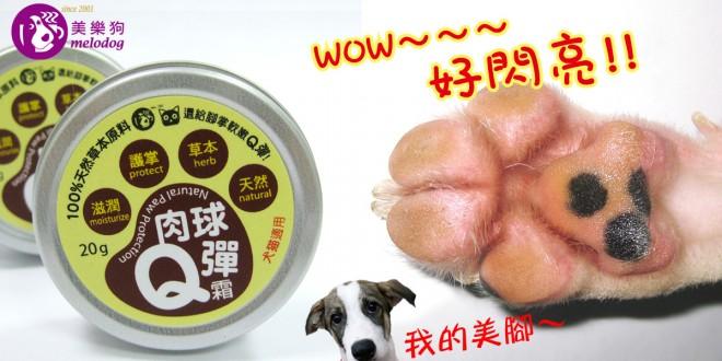【肉球Q彈霜】毛小孩的肉墊保養、按摩兼檢查一次完成!
