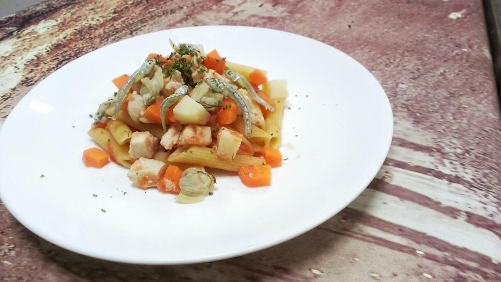 西西里紅醬海鮮義麵